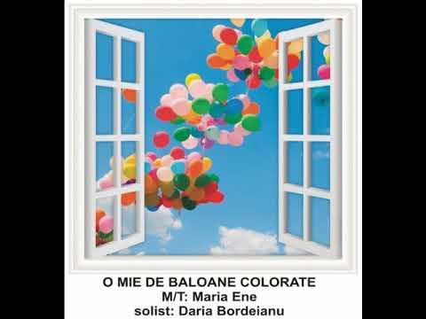 BALOANE COLORATE ȘI VISE AURII – Cantece pentru copii in limba romana