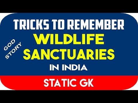 Wildlife Sanctuaries In India (GOD STORY) | Static GK | Kartik Anand