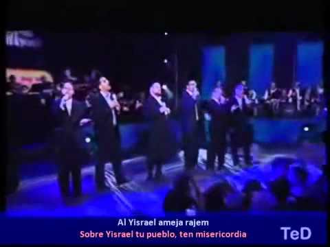 Rajem Ten Misericordia Yaakov Shekey Varios Español - YouTube2.flv