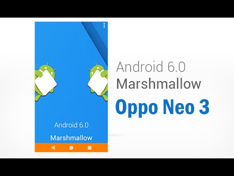 How to Oppo Update Android 6 0 Marshmallow