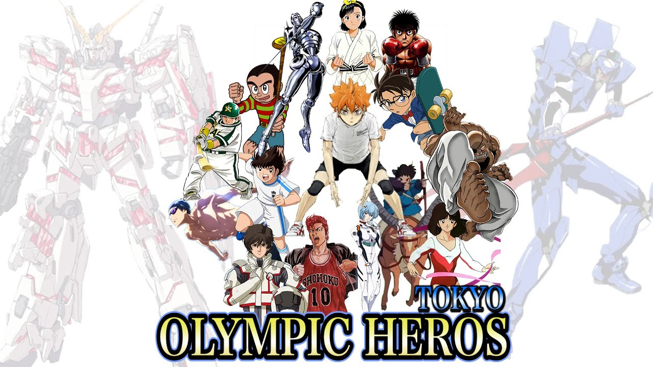 【MAD】OLYMPIC HEROS