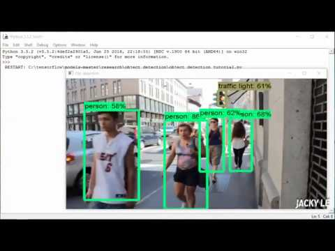 Install Tensorflow Object Detection API and create a sample