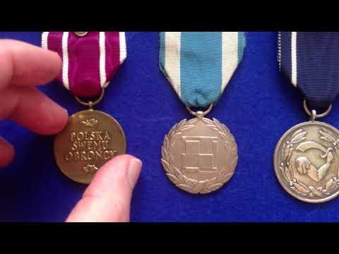 WW2 Polish service medals