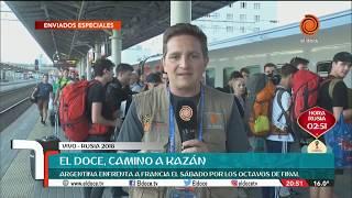 Camino a Kazán: Cómo viajan los hinchas para ver a la Selección en Rusia