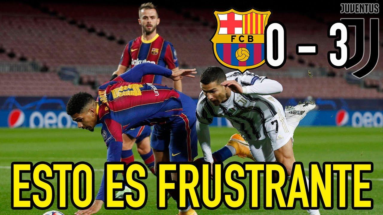 Barcelona se derrumba en el Camp Nou ante la Juventus
