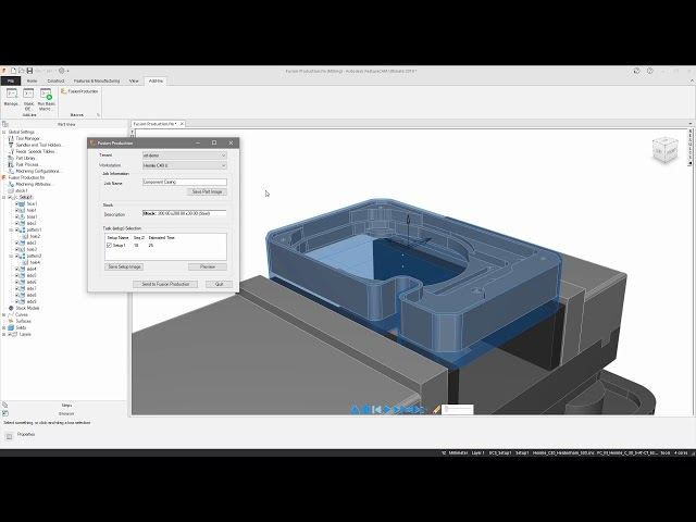 Autodesk Fusion Production - FeatureCAM 2019 Tutorial