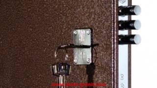 Стальная дверь Гранит М2(Стальная дверь Гранит М2, обзор модели. Адрес официального производителя: http://dveri-granit.com., 2013-05-04T09:44:25.000Z)