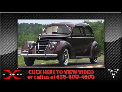 1938 Ford Deluxe Tudor || For Sale
