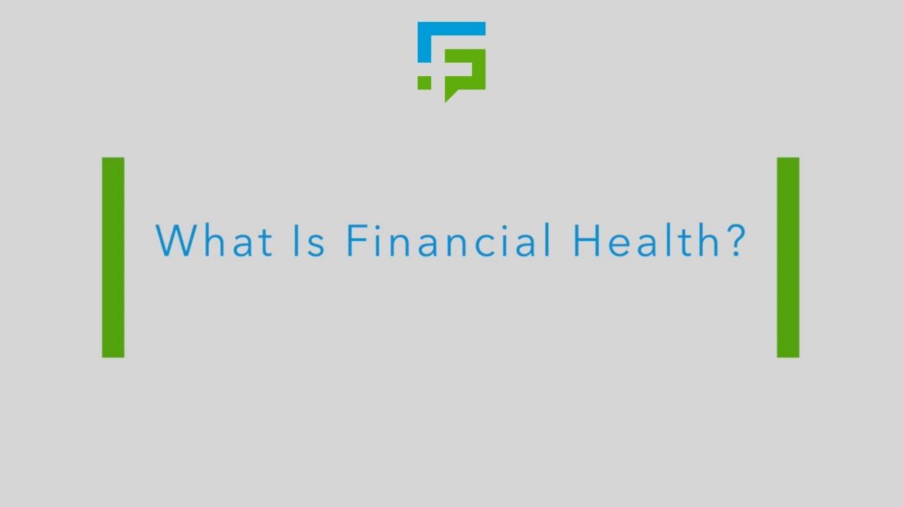What Is Financial Health? - YouTube