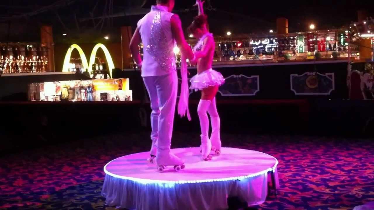 Roller skates las vegas - Roller Skating Circus Act In Las Vegas