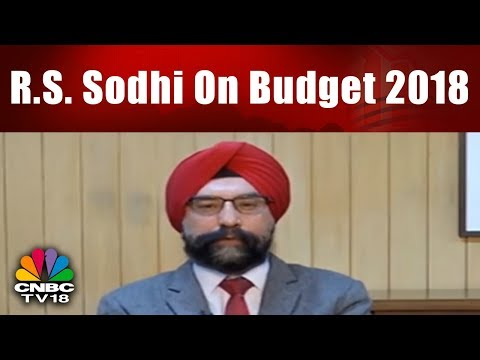 R.S. Sodhi On Budget 2018 | Exclusive Interview | Corporate Radar | CNBC TV18