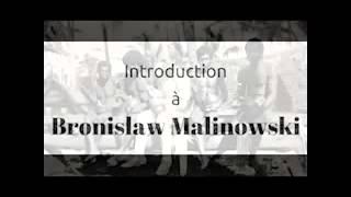 Qui est Bronislaw Malinowski ?