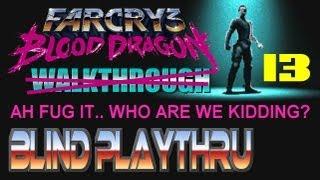 Far Cry 3 Blood Dragon Fake Walkthrough, Part 13 - Desperately Saving Susan, Semi-Auto Upgrade