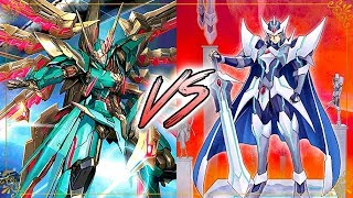 Nova Grappler (Blaukluger) Vs. Royal Paladin (Blaster) Cardfight!! Vanguard G