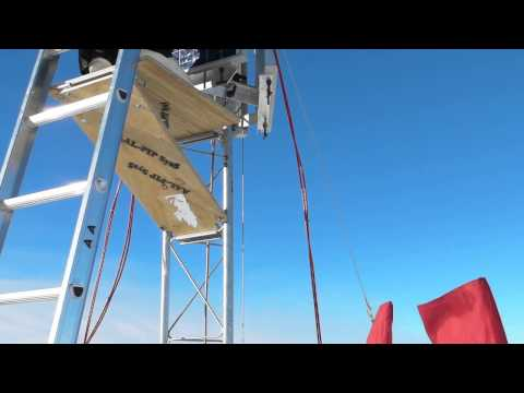 20140105 06 PG4 Solar panel Tower @ Antarctic Plateau