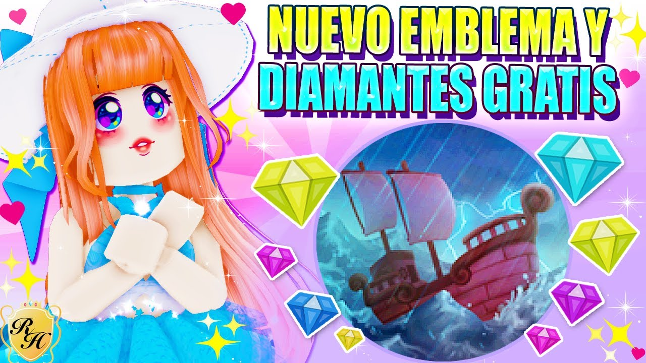 Download 🌴 DIAMANTES GRATIS en DIAMOND BEACH 🌊 NUEVO EMBLEMA OLA 2 👑 Royale High