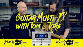 Guitar Multi-FX: Play Electric - Individual stompbox FX with Switch-6