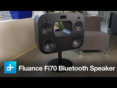Fluance Fi70 Bluetooth Speaker - Hands on review