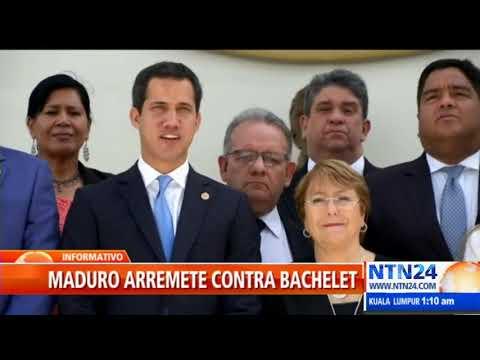 """Bachelet se declaró enemiga de Venezuela"""