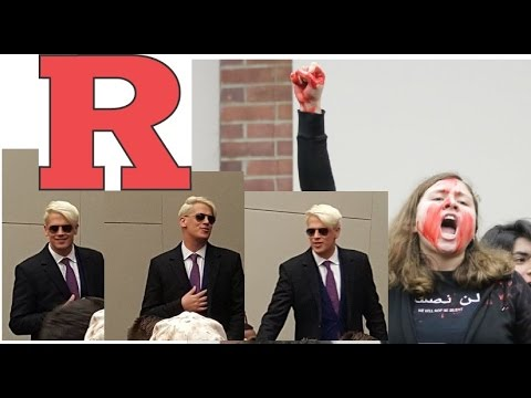 Milo Yiannopoulos Lecture at Rutgers University 2-9-2016
