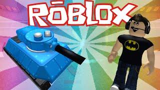 I'M A TOY TANK!! | Roblox