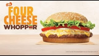 Carbs - Burger King Four Cheese Whopper