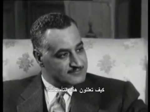 Gamal Abdel Nasser - Interview Continent sans visa 1962