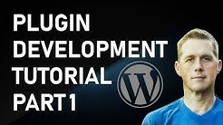 WordPress Plugin Development | How To WordPress Development Tutorial