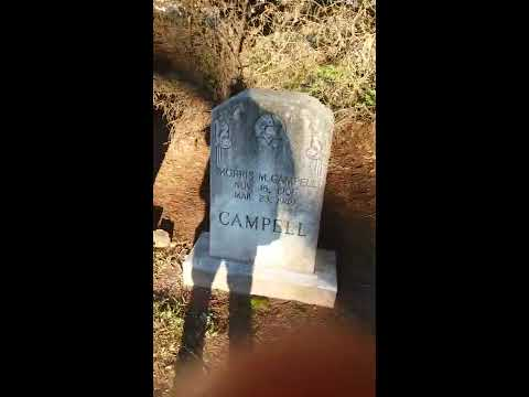 The Two Northeastern Rows Of Beth Israel Cemetery Of Greenville South Carolina