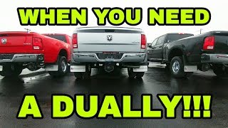 When you need a Dually to tow an RV!