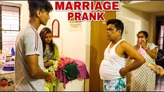| Marriage Prank on Bengali girl's parents - Bhaag ke shaadi prank - aage dekhiye kya hua |