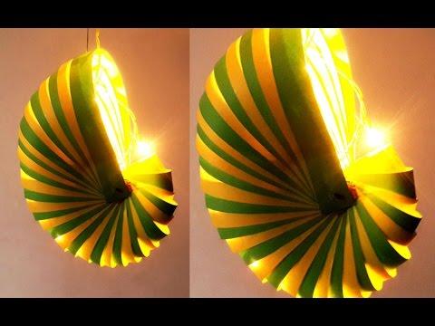DIY Diwali Paper Lamp : How to Make Unique Paper Lantern Step by Step | DIY Diwali Lantern Making