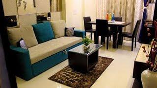 INTERIOR DESIGN | LIVING CUM DINING ROOM | COMPLETED PROJECT || RADIANT DESIGN STUDIO