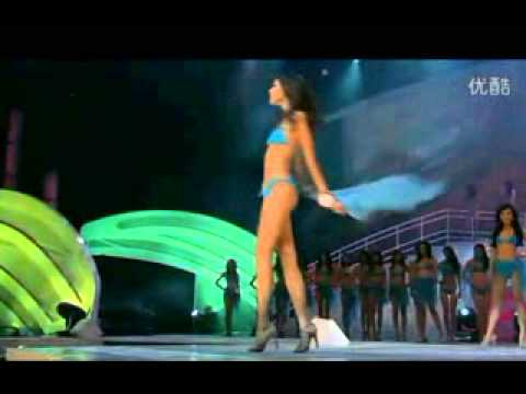 Luo Zilin in Swimsuit in the Miss Universe China 2011 competition
