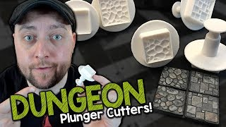 Dungeon Tile Plunger Cutters by Green Stuff World (Black Magic Craft Episode 077)