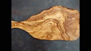 Olivewood chopping boards, cheeseboards and display boards