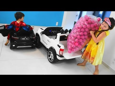 Baby Balls Cars for children games for kids with balls toys