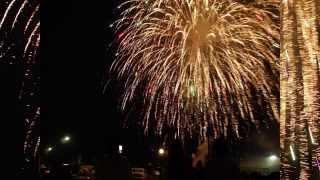 Lavallette Fireworks Time Lapse
