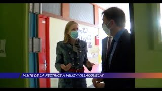 Yvelines | Visite de la rectrice à Vélizy Villacoublay