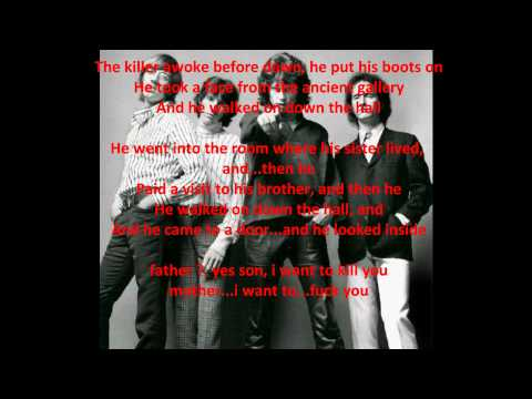 The Doors - The End (with lyrics) COMPLETE