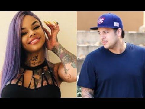Rob Kardashian Revealed His New Girlfriend And Now Blac Chyna Wants Him Back