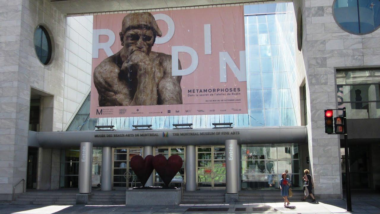 Montreal Museum Of Fine Arts - Quebec Canada