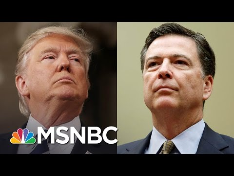 The Timeline Of President Donald Trump And James Comey | Morning Joe | MSNBC
