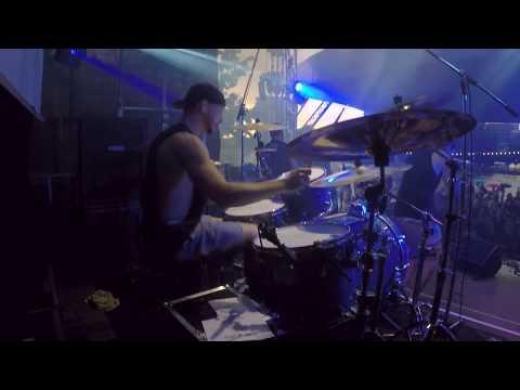 Patrick Fuchs - Born As Lions - Drumcam @ Museumsuferfest Frankfurt 2017, Radio X Stage