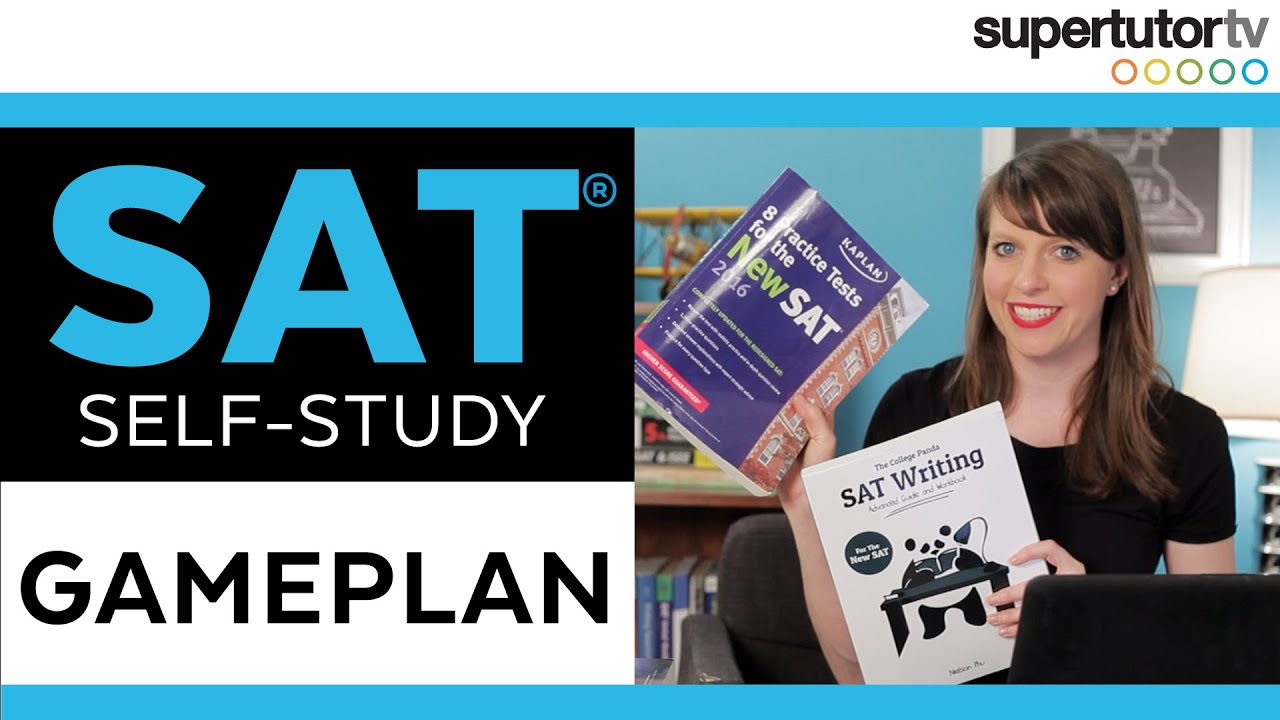 SAT Self Study Game Plan: Setting a Study Schedule for the SAT - YouTube