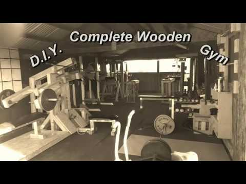 D I Y  Complete Wooden Gym