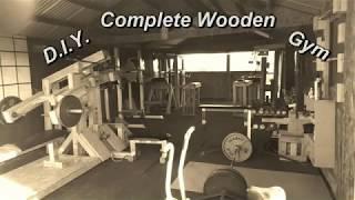 D I Y  Complete Wooden Gym