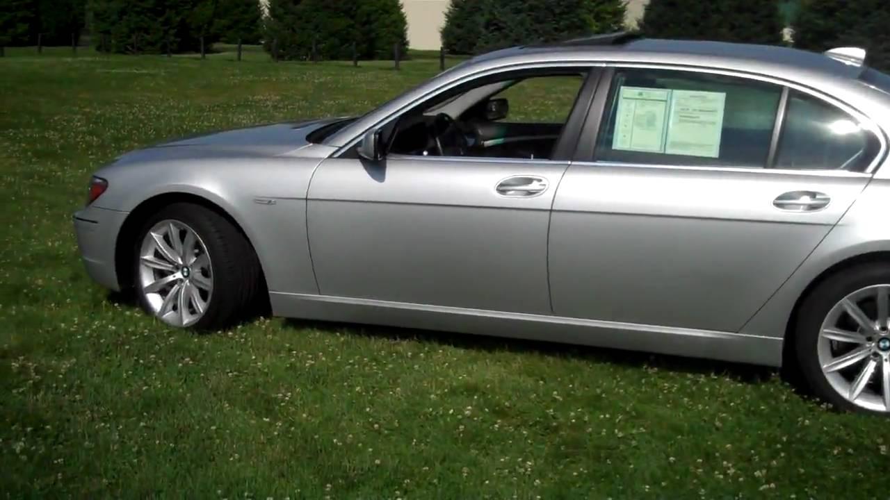 2007 BMW 750Li - YouTube