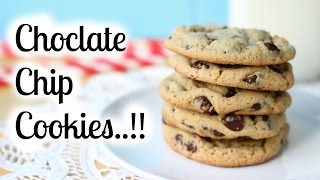 Chocolate Chip Cookies Recipe - Eggless - Easy Christmas Recipes - Made Easy - 1