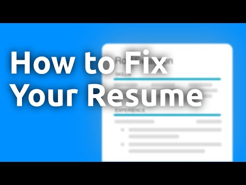 How To Fix Your Resume Using Action Verbs And Quantified Accomplishments